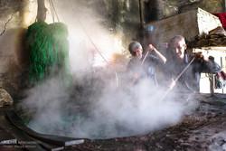کارگاه سنتی رنگرزی در تبریز