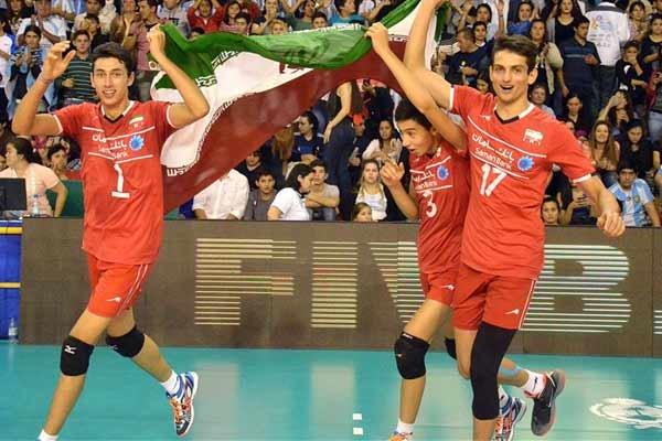 Iran ranks 3 in FIVB Boys' U19 World Championship