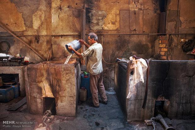 Tebriz'de İplik BoyacılığıBoyacılığı