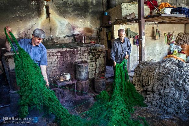 Tebriz'de İplik Boyacılığıİplik Boyacılığı
