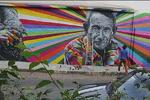 ۹۰۰ متر مربع از دیوارهای مدارس مرکزی تهران نقاشی شد