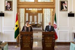 دیدار وزرای امور خارجه ایران و غنا
