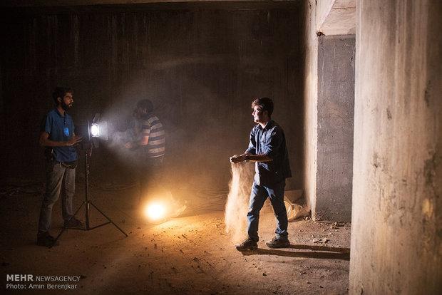 Behind scenes of 'Ctrl+c'