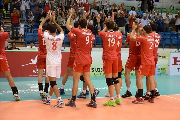 U23 FIVB World games opens with Iran beating UAE