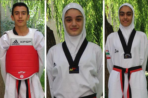 İranlı tekvandocular üç madalya kazandı