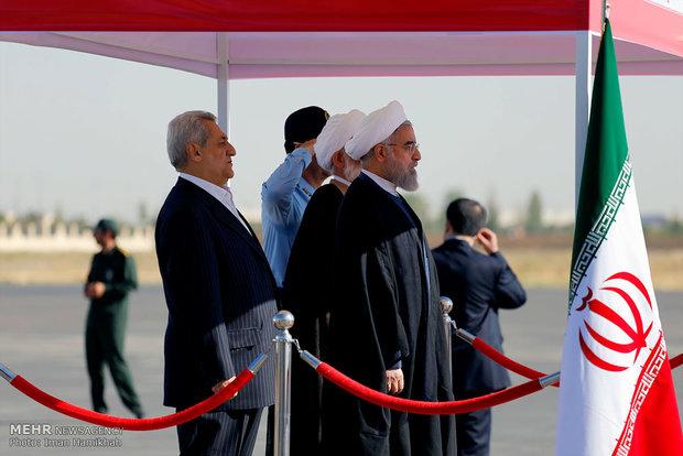 Rouhani in Hamedan
