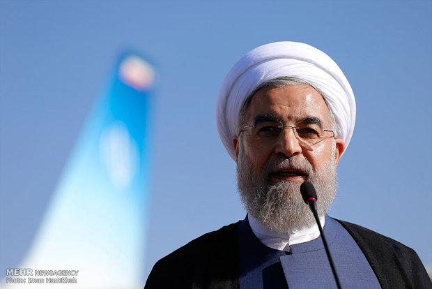 روحاني: سنفتتح اليوم مشروع لسكك الحديدية ومستشفى بسعة 220 سرير