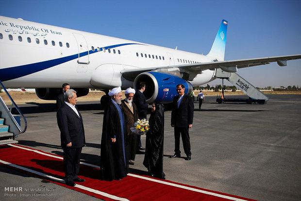 ایرانی صدر حسن روحانی ترکی کے دورے پر روانہ