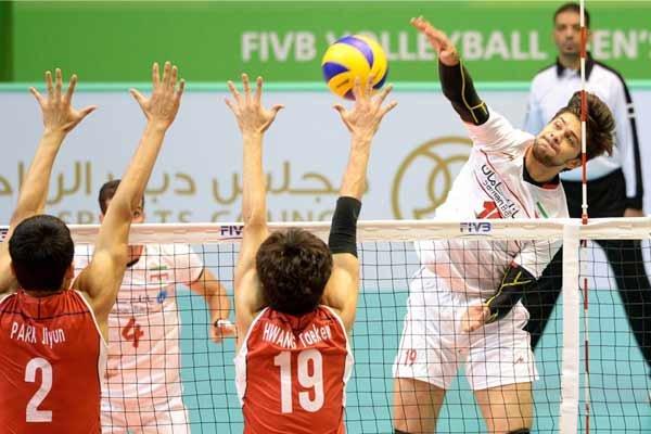 صعود به ایران به جمع چهار تیم برتر والیبال زیر ۲۳ سال کمرنگ شد