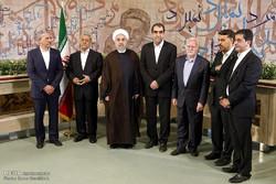 سفر رئیس جمهور به استان همدان - 2