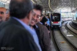 فاز سه خط یک قطار شهری تبریز از امروز مسافرگیری میکند