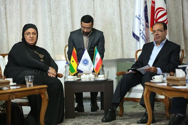 Ghanaian FM urges coop. of Iran's private sector