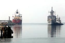 Pakistan flotilla docks at Bandar Abbas port