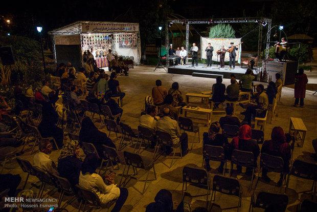 بخش قهوهخانهای هفدهمین جشنواره نمایش های آئینی و سنتی