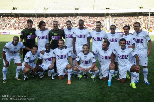 World, Iran football stars' charity confrontation