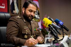 نشست خبری امیر سرتیپ اسماعیلی، فرمانده قرارگاه پدافند هوایی