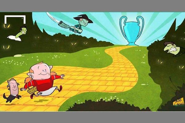 وقتی رونی سوژه کاریکاتوریست میشود/ وین در مسیری پر خطر
