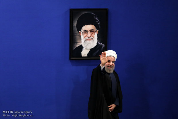 Rouhani press conference