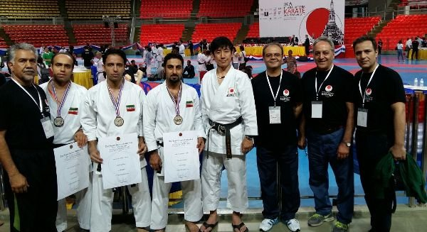 Iran wins 4 medals in 1st Asia-Pacific Karate Championship