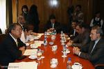 دیدار روسای مجلس ایران و ژاپن
