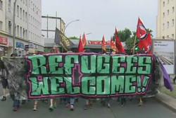 حمایت از مهاجرین در آلمان