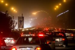 طوفان و گرد و غبار در تهران
