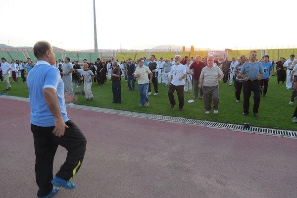 ورزش همگانی قزوین