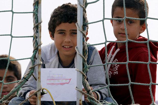 اطفال سوريا