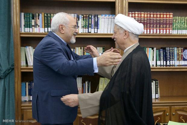 Zarif meets head of expediency council