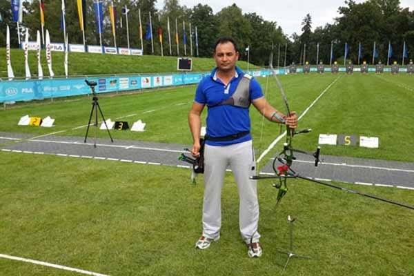 Iranian archer wins bronze medal