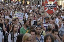 ارجنٹینا میں اسرائیلی سفارت خانے کے باہر فلسطینیوں کی حمایت میں مظاہرہ