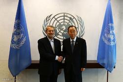 Larijani warns of spread of terrorism in ME