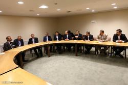 Larijani meets Omani,Syrian counterparts