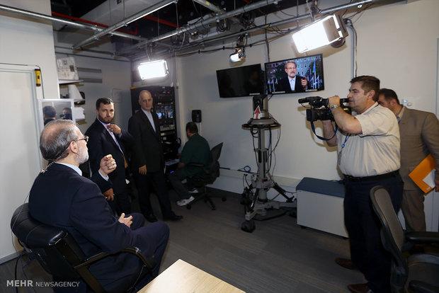 مصاحبه علی لاریجانی رئیس مجلس با شبکه cnn