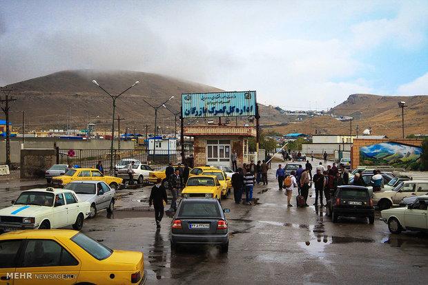 بازرگان پرترددترین پایانه مرزی اذربایجان غربی در بخش مسافر