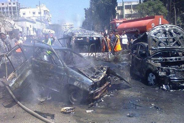 سقوط قتلى وجرحى ضحية اعمال ارهابية في دمشق واللاذقية