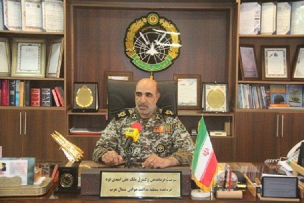 فرمانده منطقه پدافند هوایی شمالغرب کشور