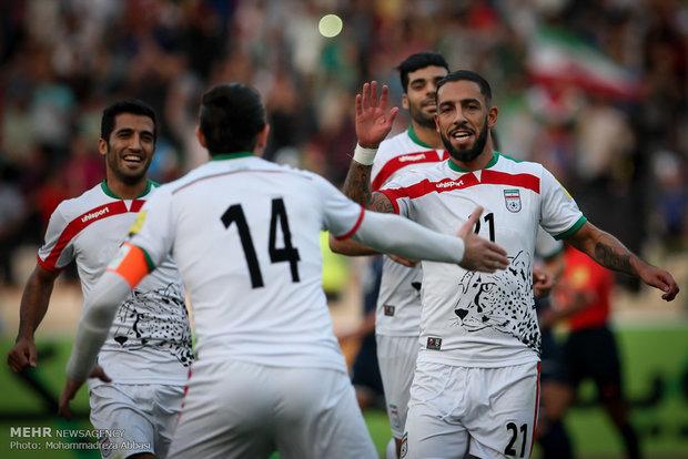 دیدار تیم های ایران و گوام