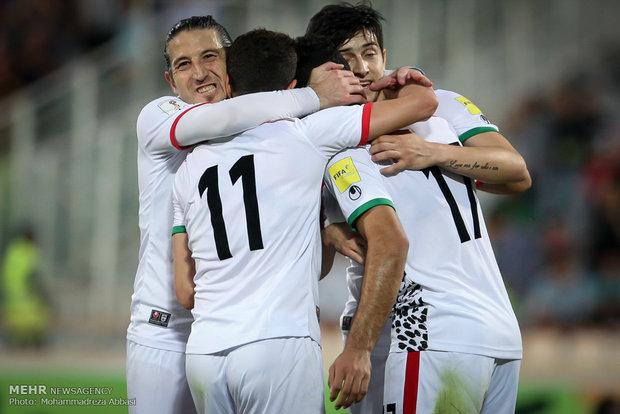 ايران تعلن عن تشكيلة فريقها الوطني الجديدة