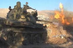 Syrian army hits terrorist bases