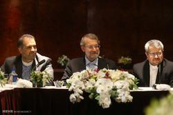 Larijani, religious figures meet in NY