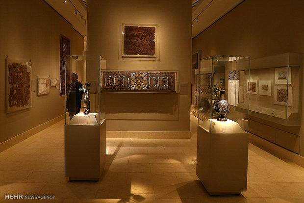 زيارة رئيس مجلس الشورى الاسلامي الايراني الى متحف متروبوليتان في نيويورك