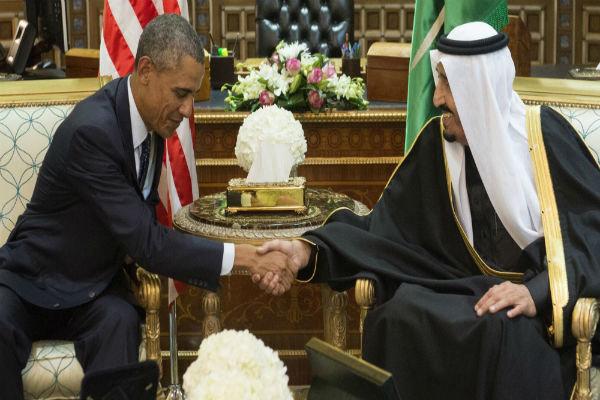 اوباما و ملک سلمان