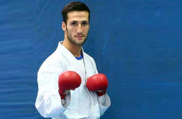 حضور نماینده ورزش قم در مسابقات جهانی کاراته