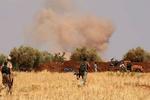 انهدام مقر فرماندهی تروریست ها در حومه حماه سوریه