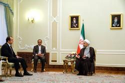 دیدار وتقدیر استوارنامه سفیران پنج کشور به ریاست محترم جمهوری