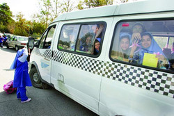سرویس مدرسه تصادفی، تحت نظارت تاکسیرانی نبوده است