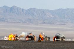 """مقاتلات اف 5 تدمر اهداف حيوية للعدو خلال مناورات """"فدائيو سماء الولاية"""""""