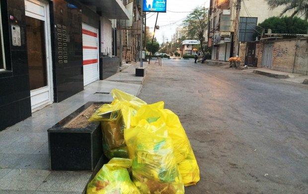 زباله های عفونی اهواز