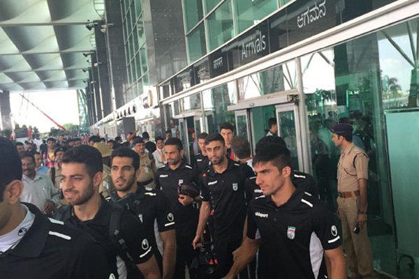 تیم ملی فوتبال ایران - ورود به هند
